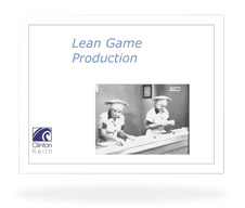 lean game production